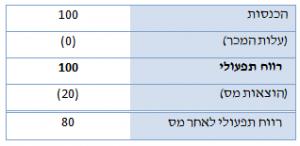 היוון תזרים מזומנים (DCF) - דוגמה התחלתית
