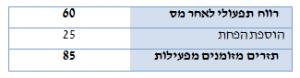היוון תזרים מזומנים (DCF) - לאחר הוספת הפחת